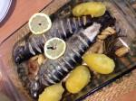 Fisch mit Paradeiser